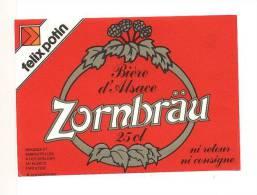étiquettes De Bière  Zornbräu - Bière