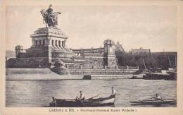 Germany Koblenz Provinzial Denkmal Kaiser Wilhelm I