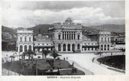 "Cartolina D'epoca ""GENOVA - Stazione Brignole"" - Genova (Genoa)"