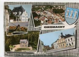 CPSM 90 GIROMAGNY MULTI VUES - Giromagny