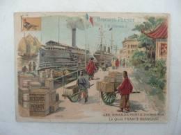 Chromo Biscuit PERNOT Les Grands Ports SHANGHAI - Pernot