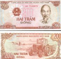 Viet Nam #100a, 200 Dông, 1987, UNC / NEUF - Vietnam