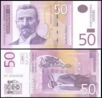 Serbia #40a, 50 Dinara, 2005, UNC - Serbien