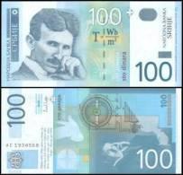 Serbia #new 100, 100 Dinara, 2003, UNC * Commemorative Issue * - Serbien
