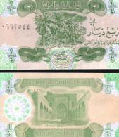Iraq #77, ¼ Dinar, 1993, UNC - Irak
