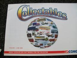 CATALOGO CORGI TOYS - COLLECTABLES TRUCK / BUS  Anno 2005 - Catalogi