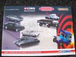 CATALOGO CORGI TOYS - COLLECTABLES TRUCK,BUS,CARS AIRPLANES MILITARY Anno 2005 - Gran Bretagna