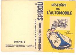 Mini Recit Histoire De L´Automobile - Spirou Magazine