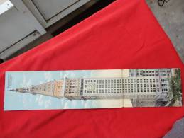 Tri Fold Panoramic Postcard  Metropolitan Life Insurance Bldg. New York City   - - -- -      Ref  624 - New York City