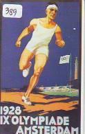 Télécarte Japon * JEUX OLYMPIQUES (389) OLYMPIC GAMES * Phonecard Japan* SPORT * 1928 * AMSTERDAM - Sport