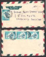 Hare Animals, Postal History Cover From GHANA 21-5-1981 - Ghana (1957-...)