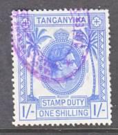 Tanganyika   Revenue 4     (o) - Tanganyika (...-1932)