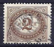 Autriche 1900 - Timbre Taxe, Valeur En Heller - Impuestos