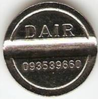 TOKEN;JETON;GETTONE -DAIR-COFFEE-093539660- FLAT EDGE,NICE GRADE - Tokens & Medals