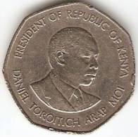 5 SHILLINGS,REPUBLIK OF KENYA 1985 - Coins