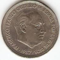 ESPANIA-50 PESETAS 1957 SPAIN+50 PESETAS 1983 SPAIN - Coins