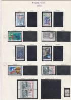 Frankreich 21 Verschiedene Briefmarken - Used - Frankreich