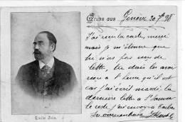 JUDAICA - ISRAEL - JUIFS  -  AFFAIRE DREYFUS - ZOLA 1898 - Judaisme