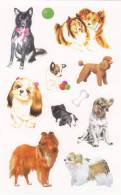 [Y] Vignettes Autocollantes Chiens Self-adhesive Labels Dogs - Adesivi