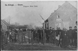 CLINGE  Grens  Prikkeldraad 1914/18 - Autres