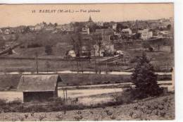 Rablay-sur-Layon..belle Vue Du Village..vignes - Frankrijk