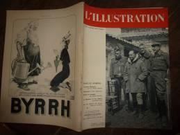 N° 4971 Du 11 Juin 1938 : Guerre  Espagne (Varela TERUEL; Rillo,Lérida; Pub  SUISSE;Art-Déco;Stevenson ; LARZAC;Roquefor - L'Illustration