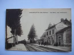 Ma Réf: 66-10-58.               CHAMPLITTE     La Gare, Vue Intérieure. - Frankreich