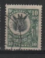 Tanganyika  1922 10c Giraffe Issue #12 - Tanganyika (...-1932)