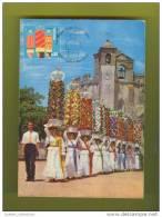 MAXIMUM CARD PORTUGAL TOMAR FESTA DOS TABULEIROS - MAXIMUM CARD PORTUGAL TOMAR - FESTA DOS TABULEIROS - Other
