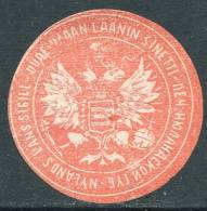 Russia Finland NYLAND / UUSIMAA Governorate Letter / Packet Seal Siegelmarke Vignette Finnland Finlande Russland Russie - Finland