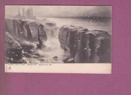 1 Cpa Raphael Tuck ECOSSE - GIRNIEGOE CASTLE, WICK - Fife
