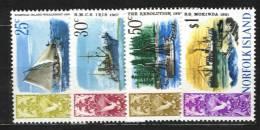 NORFOLK - Série Complète De Bateaux De 1967/8 - 3 Scans - Ile Norfolk