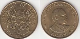 KENYA 10 Cents 1991 KM#18 - Used - Kenia