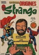 STRANGE SPECIAL ORIGINE N° 136 BIS BE LUG 04-1981 - Strange
