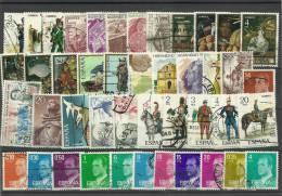 ESPAÑA- PAQUETERIA SELLOS USADOS - 1961-70 Usados
