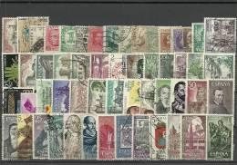 ESPAÑA- PAQUETERIA SELLOS USADOS (K-nº 7) - 1961-70 Usados