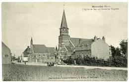 59 : MERVILLE - L'EGLISE DU SART ET L'ANCIENNE CHAPELLE - Merville