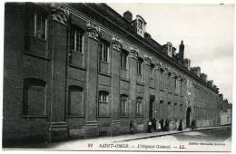 62 : SAINT OMER - L'HOPITAL GENERAL (LL) - Saint Omer