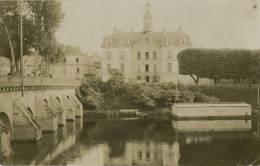 78 - MEULAN - Carte PHOTO Véritable - Hospice, Bains Froids Pour Dames  1908 - Meulan
