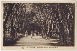 17 FOURAS LES BAINS - CPA Promenade Dans Le Parc Du Casino - TTBE - CAP 102 - Non écrite - Fouras-les-Bains