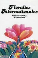 Autocollant Nantes Fleurs Rose - Stickers