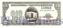 CUBA 10 CENTAVOS 1961 PICK 86s SPECIMEN UNC - Dominicana