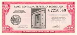 CUBA 25 CENTAVOS 1961 PICK 87a UNC - Dominicana