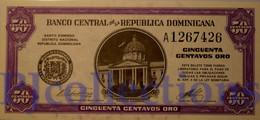 CUBA 50 CENTAVOS 1961 PICK 89a UNC - Dominicana