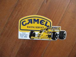 Autocollant  De Voiture De Course Camel       Racing Service                          Sticker - Stickers
