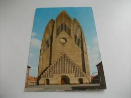 Francobollo Commemorativo Danimarca Copenhagen Grundtvig's Church - Danimarca