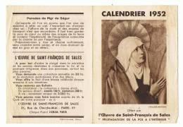 3 Calendriers Religieux   Papier  10cm X 14 Cm Ouverts - Calendriers