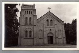 CONGO BELGE - Photo D'une église (pas De Séparation Au Dos, Inscription KAMINA Au Crayon) - Belgisch-Congo - Varia