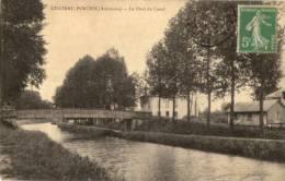 CHATEAU-PORCIEN LE PONT DU CANAL - Chateau Porcien