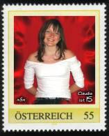 """Personalisierte Briefmarke PM 8017672 """"CLAUDIA Ist 15"""" - Österreich"""